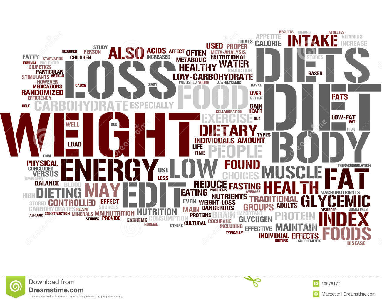 http://www.dreamstime.com/royalty-free-stock-photography-diet-word-cloud-image10976177